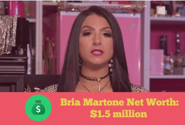 Bria Martone Net Worth