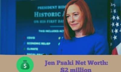 Jen Psaki Net Worth